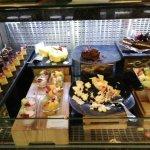 Dessert aisle.