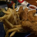 chicken strips meal, chicken is amazing!