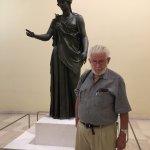 Athena in bronze