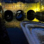 Pulteney Bridge & weir at night