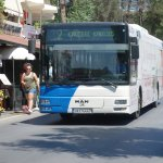 #2 bus can be caught directly in front of the hotel to get to the archaeological site.
