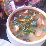 Khmer style tom yam