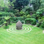 Part of garden at Hotel George!