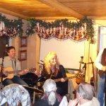 Gary Fjellgard with Saskia and Darryl