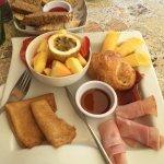 The Belgian Breakfast Plate - Very Yummy!