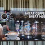 WE HAVE GREAT COFFEE & GREAT MUSIC