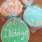Father's Day Hand-Decorated Shortbread Cookies!