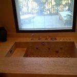 garden suite jacuzzi bath