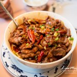 Beef in spicy broth, good portion but no numbing feel.