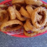 Family sized onion rings
