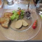 foie gras avec compotée d'oignons
