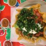 Taco Salad at Boom Boom Mex Mex