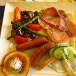 Ben View House full Irish breakfast