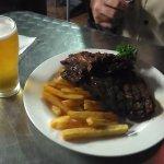 Steak & chip meal