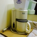 In room free Coffee