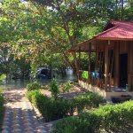 Our beautiful bungalow in Cakalang Resort.
