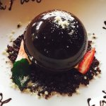 Our famous dessert - THE DINING HAUL Chocolate ball