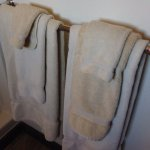White or beige towels? - can't tell
