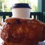 Cinnamon Bun and Coffee make a perfect breakfast!