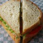 Potato Bread Sandwich (Chicken Salad)