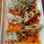 Handmade Pork Dumplings $7.95