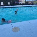 Kids enjoy a well maintained pool.