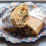 Villa Mexico Cafe's best Burrito in Boston!