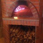 La Bocca wood fired pizza oven