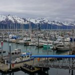 Seward, Alaska view from Room Balcony.