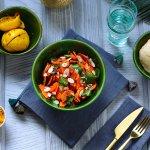 Сладкая морковь с миндалем