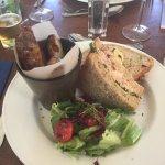 Crab and Prawn Sandwich