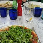 Pizza, Past and Salad
