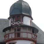 Turmdetail im Aussenbereich
