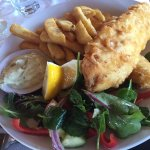 Fish and chips - sumptuous