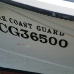 CG26500 Lifeboat that rescued the crew of the Pendleton. Disney released a film early this sprin