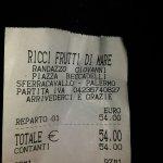 Foto van Ricci Frutti Di Mare Randazzo Giovanni