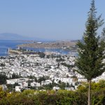 view of Bodrum and Kos from room