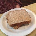 """""""Toast"""" aka- non-toasted bread... Sigh..."""