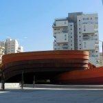 Facade of the Museum of Design Holon