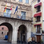 Los Arcos next to the Archway in the Plaza Mayor