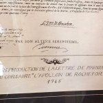 La lettre de marque, passeport indispensable pour être reconnu Corsaire du Roi