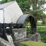 Water wheel and slew.