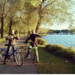 прогулки на велосипедах по набережной