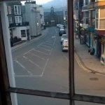 view from room window seat looking to Cader Idris