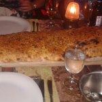 Complimentary lavas bread