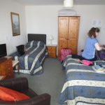 Our lovely and spacious twin room!