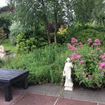 Garden with views of Slieve Donard!!