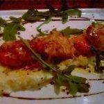 Scallops with cauliflower puree