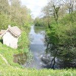 The boathouse of Woodchester.