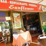 Leuk Spaans restaurant Sunflower in de wijk Varadero